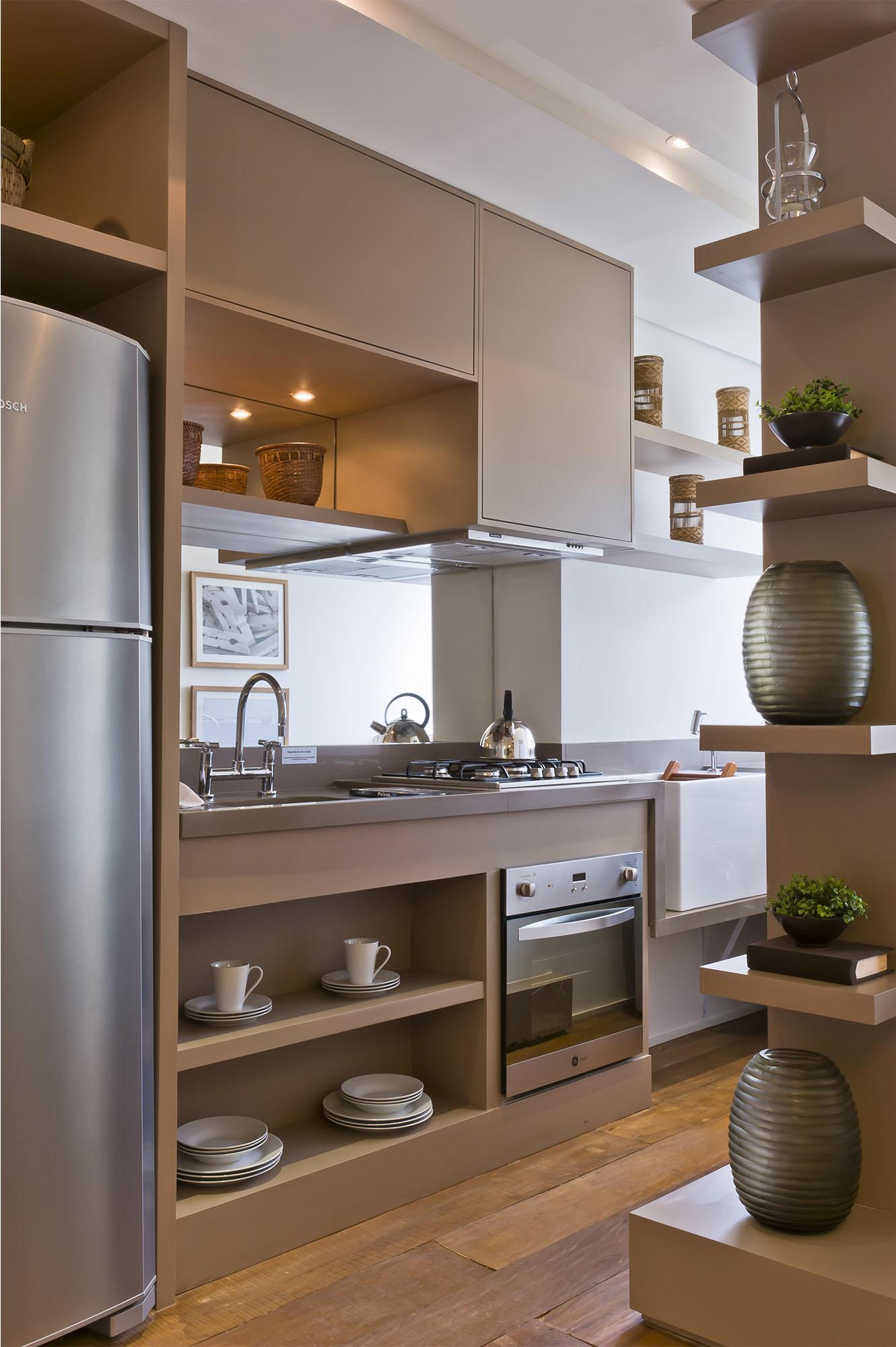 Cozinha Americana De Apartamento Planejada Oppenau Info